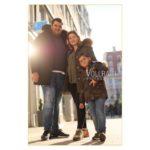 Mandy und Familie in Begleitung beim Photoshooting to go in Augsburg